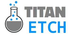 Titan-Etch : Titanium Etching without HF